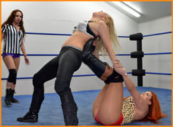 Amber O'Neal vs April Hunter