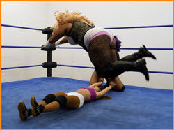 Roni Nicole & The WoAD vs Tesha Price